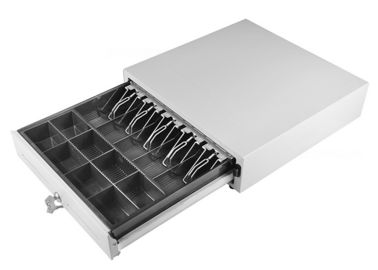 Chiny Lockable Manual Cash Drawer Under Counter Customized Steel Construction 410M fabryka
