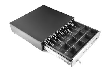 USB / RS232 szuflada metalowa, 10,8 KG 8 kasetek Pos Cash Box Adjustable Dividers 460E